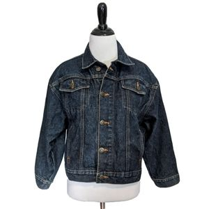 Cropped 3/4 Sleeve Jean Jacket by French Toast